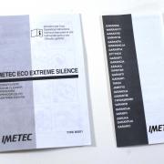 Imetec Eco Extreme Silence 8096 accessori