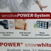 Severin BC 7045 S'Power Snowwhite la confezione