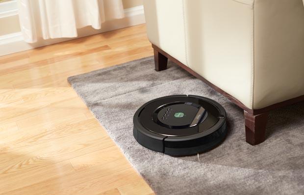 iRobot Roomba su tappeto