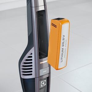 Batteria di una scopa elettrica senza fili